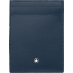 Porta carte + documenti Meisterstuck pelle navy